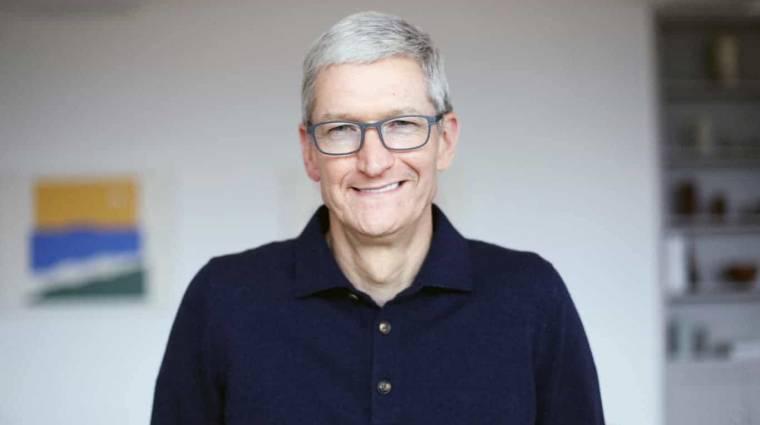 Apple-titkokat árult el Tim Cook kép
