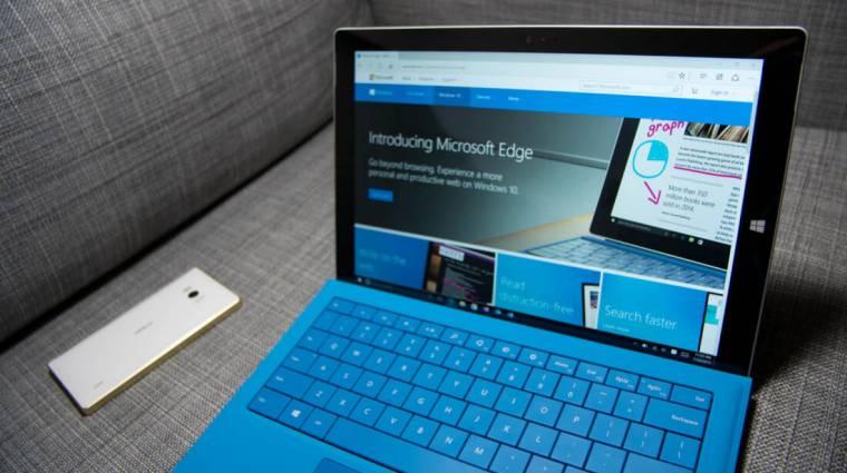 Hiba az Edge-ben: a Google jól kitolt a Microsofttal kép