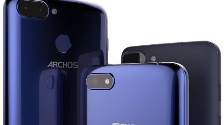 Trendi kijelzővel és olcsón jönnek az új Archos okostelefonok kép