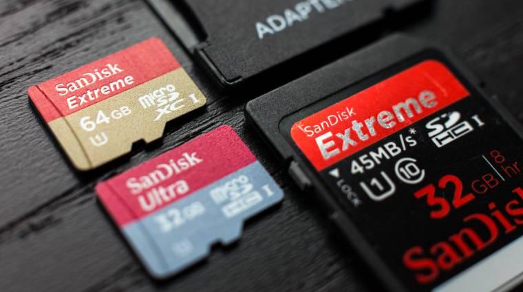 Erre figyelj, ha új microSD-t veszel kép