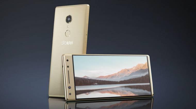 Bemutatkoztak az Alcatel menő okostelefonjai kép