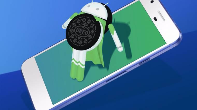 Csoda? 1 százalék fölött az Android Oreo kép