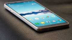 Júniusban érkezhet az LG 6,1 hüvelykes csúcskészüléke kép
