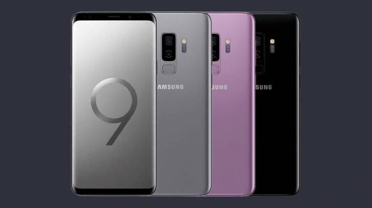 Látványos videóban debütált a Galaxy S9 csengőhangja kép