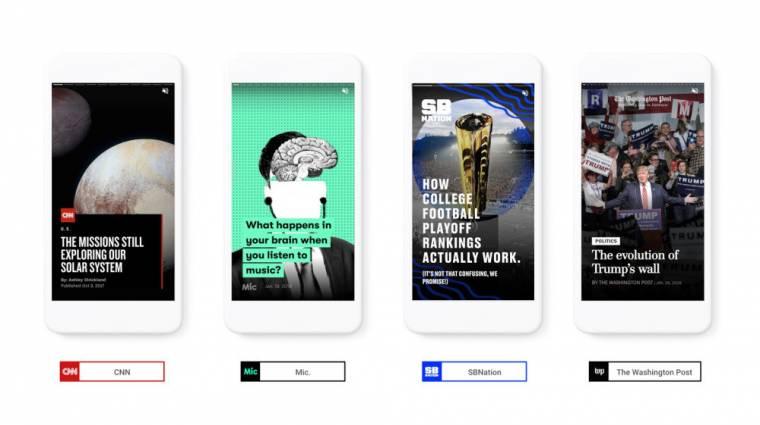 Történetekkel dobná fel a mobilos keresést a Google kép