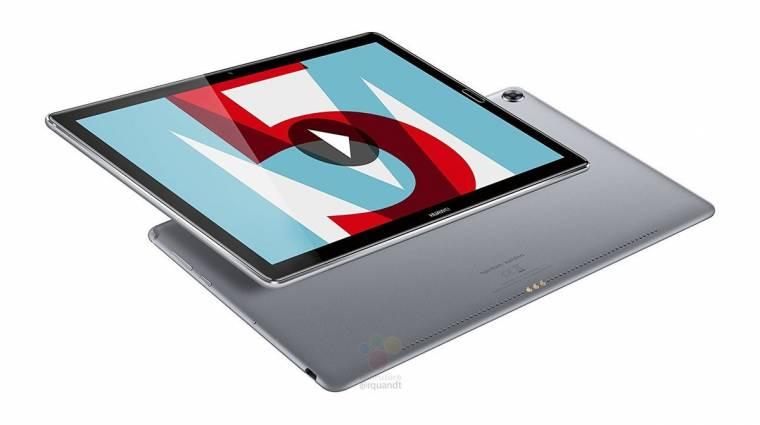 Kiszivárgott a Huawei MediaPad M5 10 kép