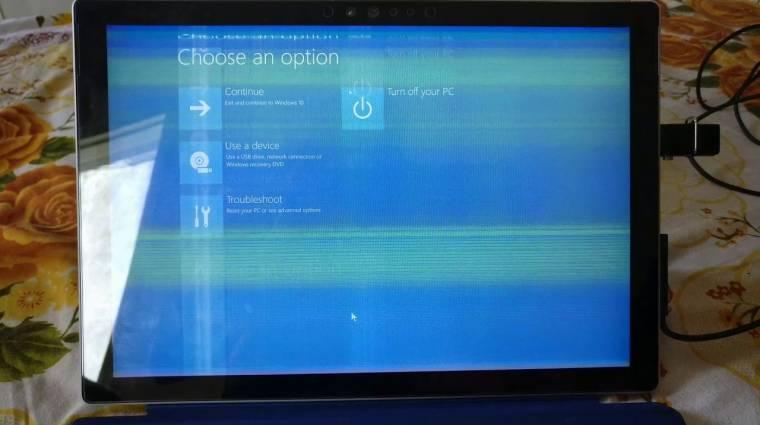 Fagyasztóban javíthatod a Surface Pro 4-et, ha lejárt a garancia kép