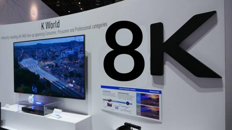 Indul a 8K-s tévéáradat kép