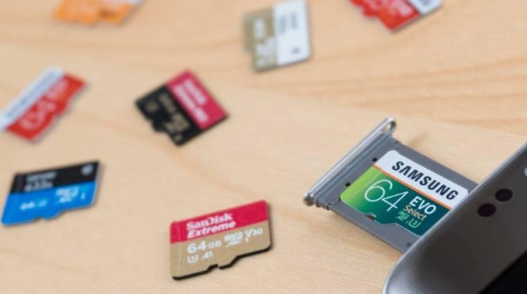 Ezt se felejtsd el, ha új microSD-t veszel kép