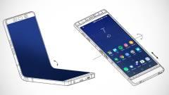 Összecsukható OLED-kijelzővel dobbantana a mobilpiacon a Samsung kép