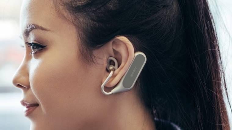 Rendhagyó módon szól a Sony Xperia Ear Duo vezeték nélküli fülhallgatója kép