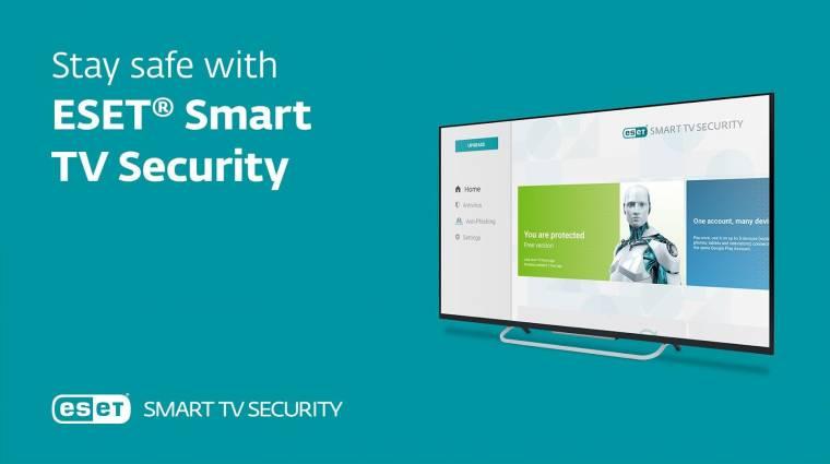 Már az okostévéket is megvédi az ESET kép