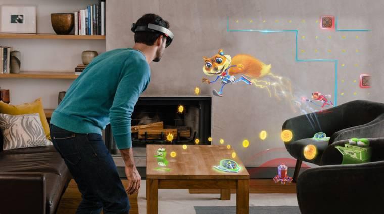 Ezt várja a kevert valóságtól a Microsoft kép