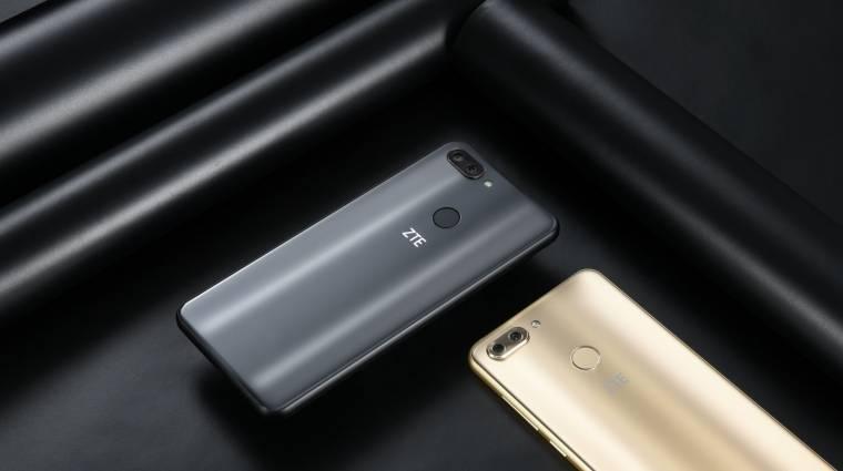 Dupla kamerával és menő kijelzővel csábít a ZTE Blade V9 és Blade V9 Vita kép