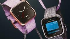 A Fitbit Versa okosórája jobb üzemidőben, mint az Apple Watch kép