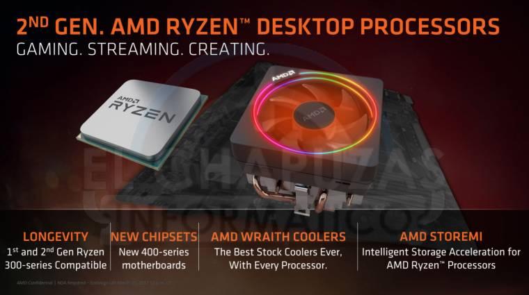 Kiszivárgott az AMD Ryzen 2000-es asztali processzorszéria kép