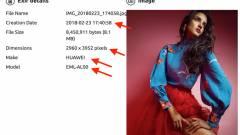 Ilyen fotókat lő a Huawei P20 kép