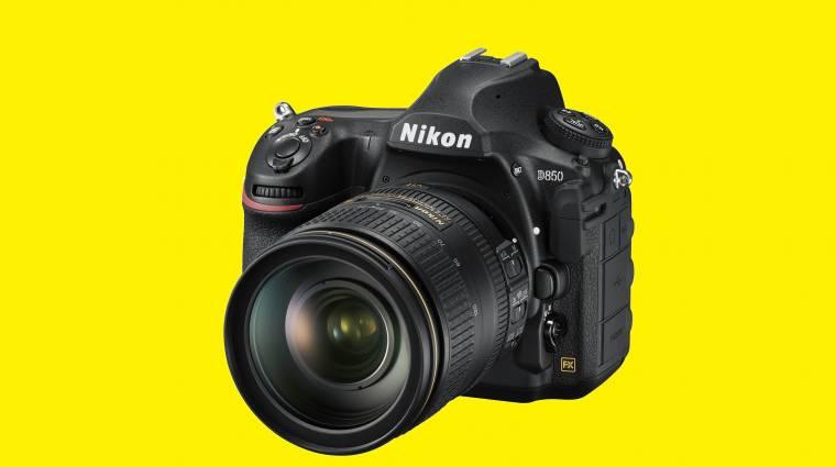 Nikon D850 - egy gyorstüzelő nagyágyú gyorstesztje kép