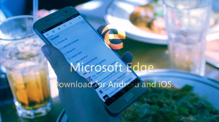 Öngyilkos küldetés? iOS-ra és Androidra is megjelent a Microsoft Edge böngésző kép