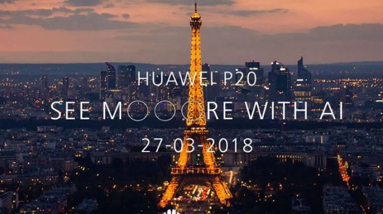 A Huawei P20 Pro lesz a következő nagy durranás kép