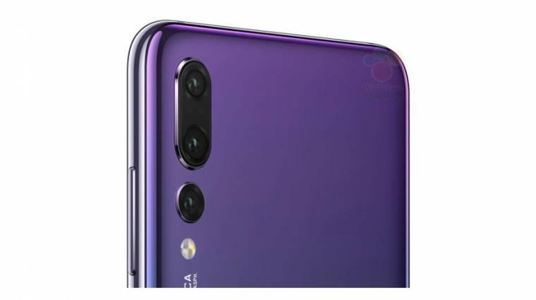 Minden kiszivárgott a Huawei P20, P20 Pro és P20 Lite okostelefonokról kép