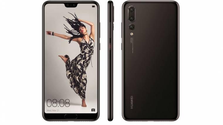 Itt van még néhány kép a Huawei P20-as készülékekről kép