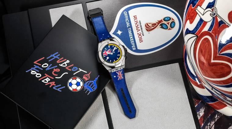 Egy kisebb vagyonba kerül a Hublot FIFA-s okosórája kép