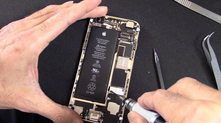 Ennyit gyorsít egy új akkumulátor egy iPhone-on kép