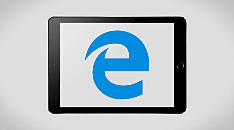 Az Apple iPadekre is optimalizálták az Edge előzetesét kép