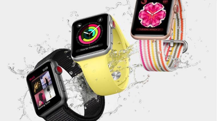 Új dizájnt és nagyobb kijelzőt hoz az új Apple Watch kép