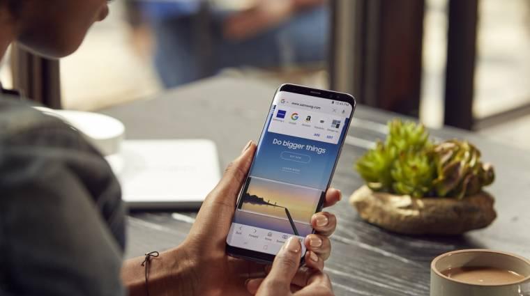 A Samsung böngészője gyorsabb, mint valaha, ráadásul a kártevőktől is megvéd kép