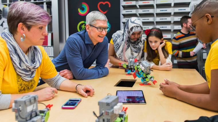 Tim Cook sosem csinálna terméket az Apple vásárlóiból kép