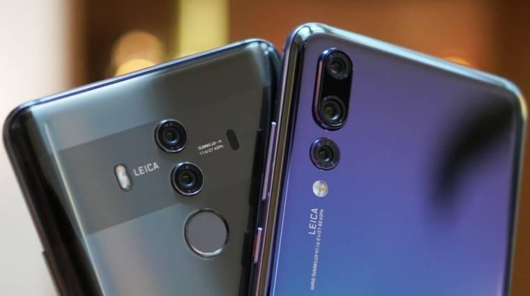A Huaweié lehet a világ első összecsukható okostelefonja kép