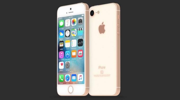 Ilyen lesz az üvegbe zárt, olcsósított iPhone SE 2 kép