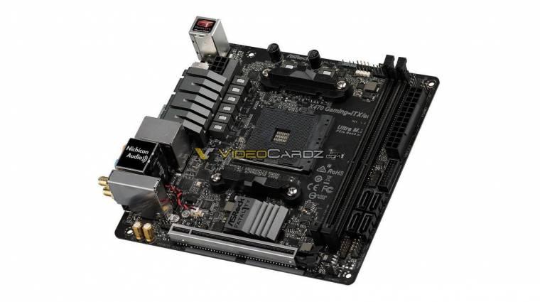Képeken az ASRock X470 Fatal1ty Gaming ITX/ac alaplap kép