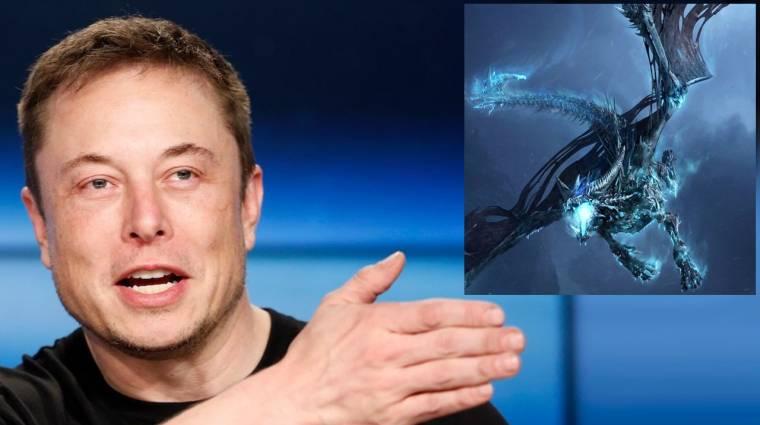 Nooormális? Elon Musk most épp kiborg sárkányt épít kép