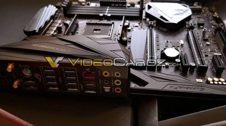 Kiszivárgott az ASUS ROG Crosshair VII X470 alaplap kép