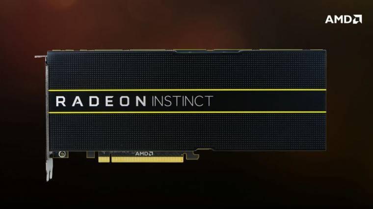 7 nm-es Vega lapkát tesztel az AMD kép
