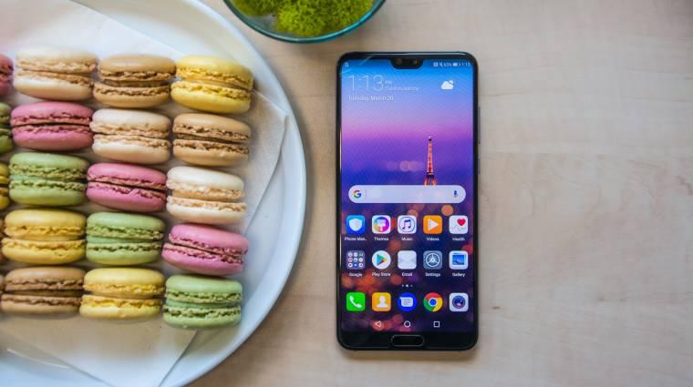 A Huawei már az iPhone X előtt is szenzorsávot akart kép