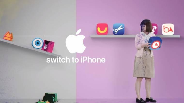 Kifigurázta a Google Play Áruházat az Apple kép