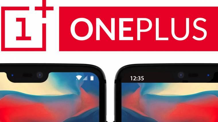 Kikapcsolható lesz a OnePlus 6 szenzorsávja kép