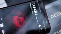 Az LG-től kölcsönzött kijelzőt a Huawei ultraprémium okostelefonja kép