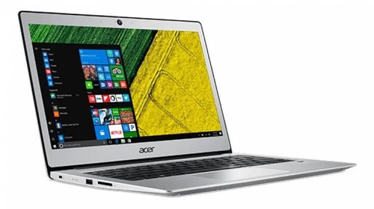 Gemini Lake processzorral frissült az Acer olcsó laptopja kép