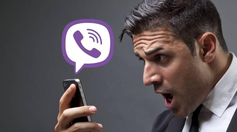 Átverés a Viber-lánclevél, ne küldd tovább! kép
