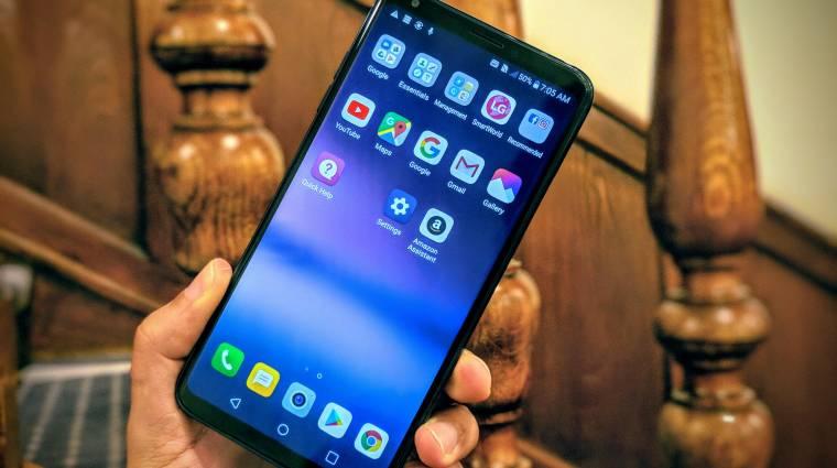 Ismerősnek tűnik az LG V35 ThinQ csúcskészülék kép