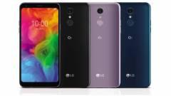 Prémium funkciókkal újítanak a középkategóriás LG Q7 okostelefonok kép