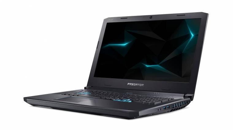 AMD-s alapokra épít az Acer prémium gamerlaptopja kép