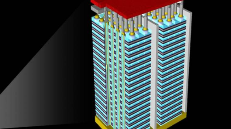 Hamarosan itt vannak a 140-rétegű 3D NAND flash tárhelyek kép