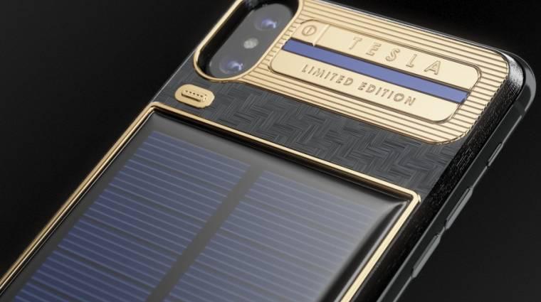 Neked megérne 4500 dollárt az iPhone X Tesla? kép