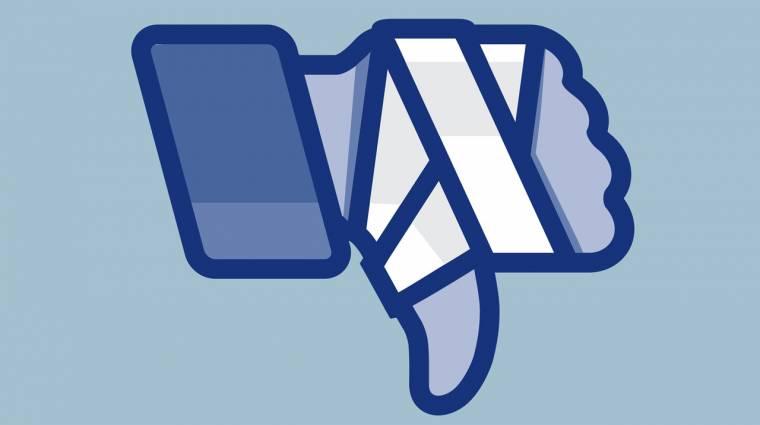 Furcsán akadozik a Facebook működése kép